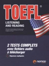 TOEFL listening and reading