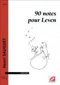 90 notes pour Leven