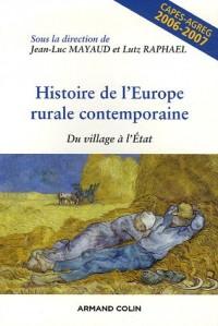 Histoire de l'Europe rurale contemporaine : Du village à l'Etat