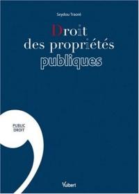 Droit des propriétés publiques