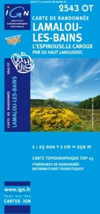 Lamalou-Les-Bains / L'Espinouse / Le Caroux PNR GPS: Ign.2543ot