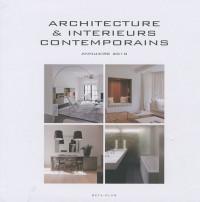 Architecture et intérieurs contemporains : Annuaire 2010