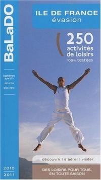 Guide BaLaDO évasion EN ILE-DE-FRANCE 2010-2011