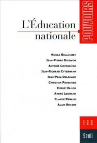 Pouvoirs 122-l'Education Nationale