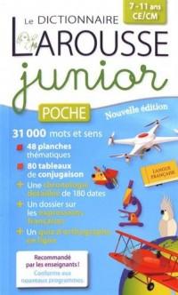 Dictionnaire Larousse junior poche : 7/11 ans, CE/CM