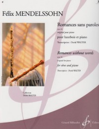 Romances Sans Paroles Opus 38 Volume 3