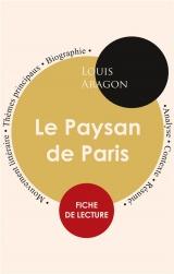 Fiche de lecture Le Paysan de Paris (Étude intégrale)