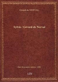 Sylvie / Gérard de Nerval