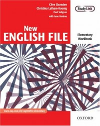 New English File elementary workbook without key