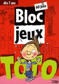 Bloc jeux Toto : 60 jeux dès 7 ans