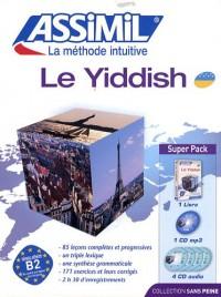 Le yiddish : Avec 4 CD audio (1CD audio MP3)