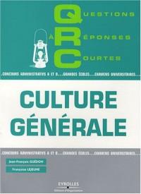 QRC de culture générale