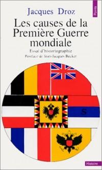 Les Causes de la Première Guerre mondiale : Essai d'historiographie