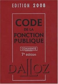 Code de la fonction publique commenté