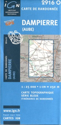 Dampierre (Aube) GPS: IGN2916O