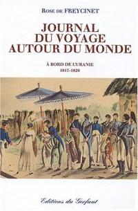 Journal du voyage autour du monde : A bord de l'Uranie, 1817-1820