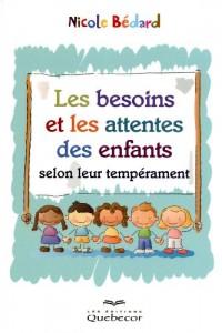 Les Besoins et les Attentes des Enfants Selon Leur Temperament