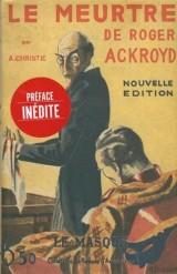 Le Meurtre de Roger Ackroyd - facsimile prestige [Poche]