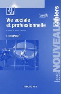 Vie sociale et professionnelle avec CCF, corrigé