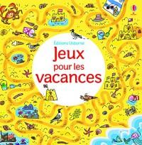 Jeux pour le vacances - Mini-livre