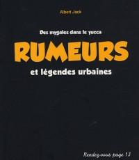 Rumeurs et légendes urbaines : Des mygales dans le yucca