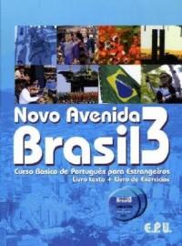 Novo Avenida Brasil 3 : Curso Basico de Português para Estrangeiros (2CD audio)