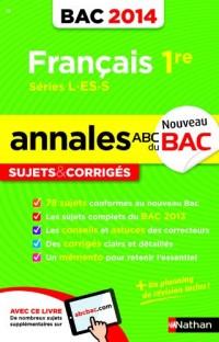 Annales Bac 2014 Français Premier l-Es-S Cor N15