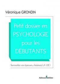 Petit Dossier en Psychologie pour les Dbutants