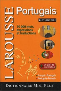 Mini dictionnaire français-portugais, portugais-français
