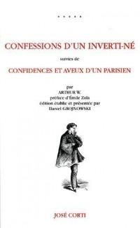 Confessions d'un inverti-né : Confidences et aveux d'un parisien