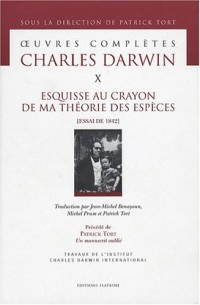 Oeuvres complètes de Charles Darwin : Tome 10