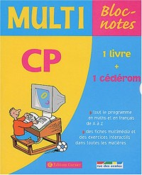 Multi Bloc-notes CP (1 CD-Rom inclus)