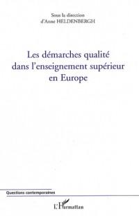 Les démarches qualité dans l'enseignement supérieur en Europe