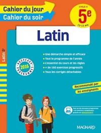 Cahier du jour/Cahier du soir Latin 5e