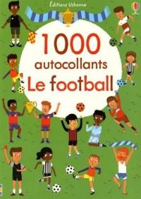 1000 autocollants - Le football