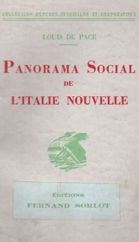 Panorama Social de l Italie Moderne