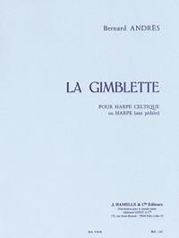 Bernard Andrès - La Gimblette pour harpe celtique (ou harpe sans pédale). Partitions pour Harpe, Partitions