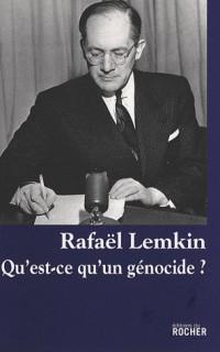 Qu'est-ce qu'un génocide ?