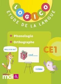 Pochette Logico Phonologie - Orthographe CE1