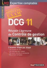 Réussir l'épreuve contrôle de gestion DCG 11