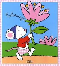 Un coloriage sage comme une image : la petite souris