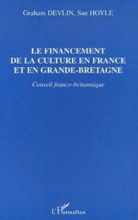 Financement de la culture en France et en grande bretagne (le) conseil franco-bri