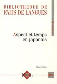 Aspects et temps en japonais