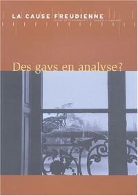 Cause freudienne, numéro 55 : Des gays en analyse ?