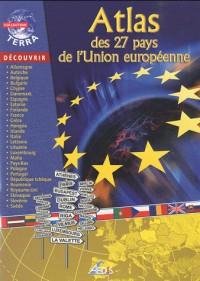 Atlas des 28 pays de l'Union européenne