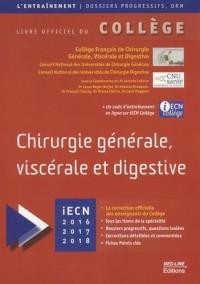 Chirurgie générale, viscérale et digestive