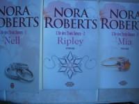 l'ile des trois soeurs en 3 tomes (T1: nell ,T2: ripley ,T3: mia) éditions j'ai lu