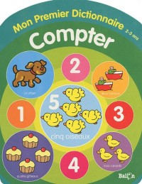 Compter 2-3 ans : Mon premier dictionnaire