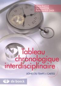 Tableau chronologique interdisciplinaire : Lignes du temps + cartes