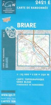 Carte de randonnée : Briare